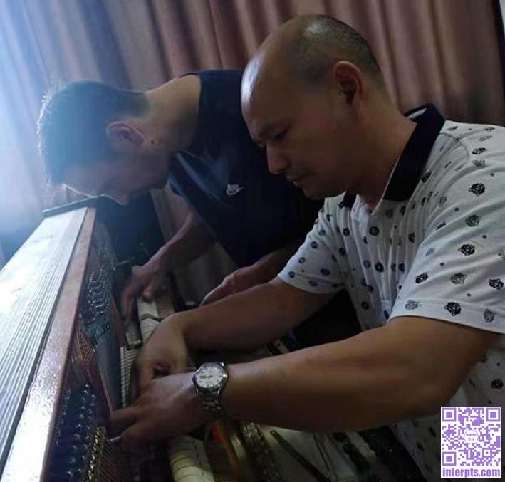 与德国钢琴制作师Sören Skopnik先生一起做琴.jpg