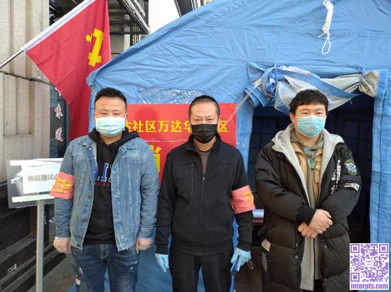 作为社区志愿者,参与防疫工作:韩隆政+.jpg